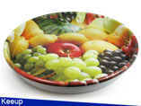 Promotional Fruit Metal Tray