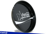 Advertising Round Metal Tin Tray