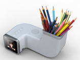 1.5 inch Pen holder TimeBar Digital Photo Frame