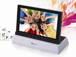7 Stereo Audio Digital Photo Frame