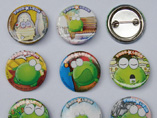 Promotional Tin Plate Badges