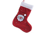 Plush material Christmas Stocking