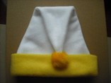 Felt Yellow Christmas Hat