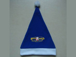 Blue Felt Xmas Hats For Kids