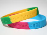 Customized Segmented Silicone Wristband