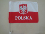 Cheap Polyester Car Flags