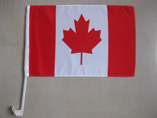 Canada National Car Flag