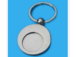 Round Newest Metal Keyring