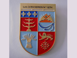 Promotional Shield Metal Badges