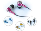 High Alloy Metal Earphone For MP3