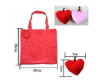 Lovely Heart Foldable Shopping Bag