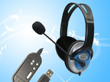 Promotional Computer USB Headphones