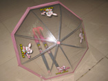 Transparent Cartoon Kids Umbrella