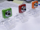 Transparent Square Clip USB Webcam