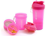 3-in-1 Shaker Bottle With Compartment