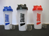 Protein Shaker Bottle With Stainless Steel Ball