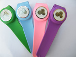 Three Windows Silicone Slap Watch