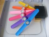 Wholesale Colourful Silicone Snap Watch