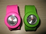 Wholesale silicone slap watch