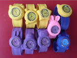 Animal Silicone Flexible Slap Watch