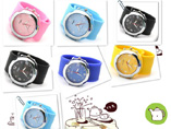 Promotional Silicone Slap Watch With Logo