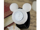 Cute Mickey Mouse Silicone Snap Watch