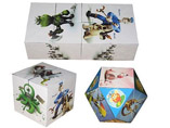 Hot Sell 3D Folding Magic Cubes