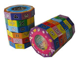 Promotional Plastic Decagon Cubes