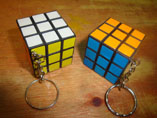 3.5cm Magic Cube With Keychain