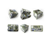 Promotional Foldable Cube With Magnet