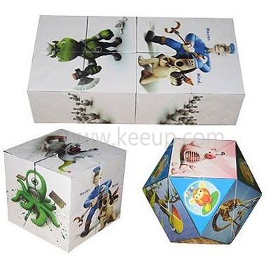 Wholesale Promotional Foldable Cube With Magnet,Promotional
