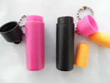 Customized reusable earplugs with plastic cases