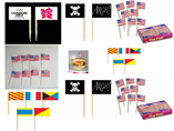 Promotional Paper Toothpick Flag