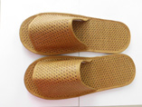 Simple Open Toe Hotel Slippers