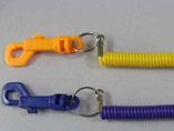 Advertising Plastic Retractable Keyring
