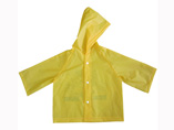 Yellow EVA Kids Raincoat