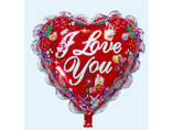 Wholesale Heart Shape Inflating Foil Balloon