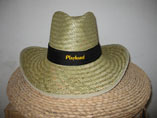 Rancher Straw Hat With Neck Cord