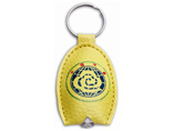 LED PU Leather Key Chain