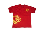 Hot Sell Red Cotton T-shirt