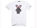 Rabbit Designed White T-shirt