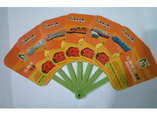 Summer Popular Plastic  Advertising Fan