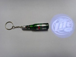 Customized Beer Bottle Projector Keychain