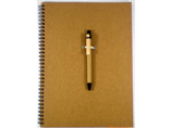 Personalized PP Spiral Notepad With Pen