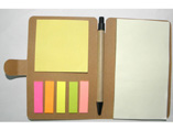 Promotional Memo Notebook With Sticky Notes