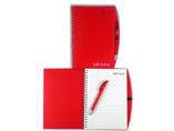 Translucent Vinyl Cover Notebook