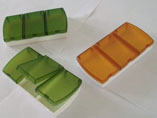 3 Case Plastic Pillbox With Logo