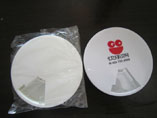 Round Plastic Weekly Pillbox With LOGO