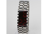 Metal LED Bracelet Watch
