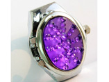 Wholesale Violet Quartz Ring Watch